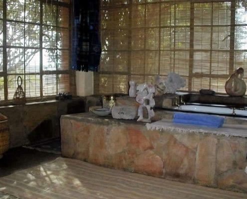 Bathroom in Moroccan suite