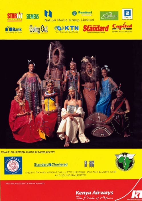 African Heritage 30th Anniversary Programme
