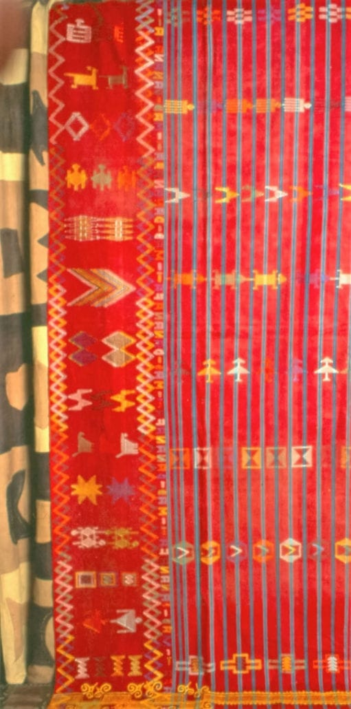 Bida cloth from Nigeria