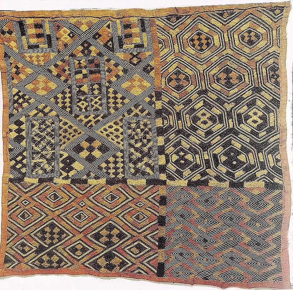 Kuba cloth from Congo (DRC)