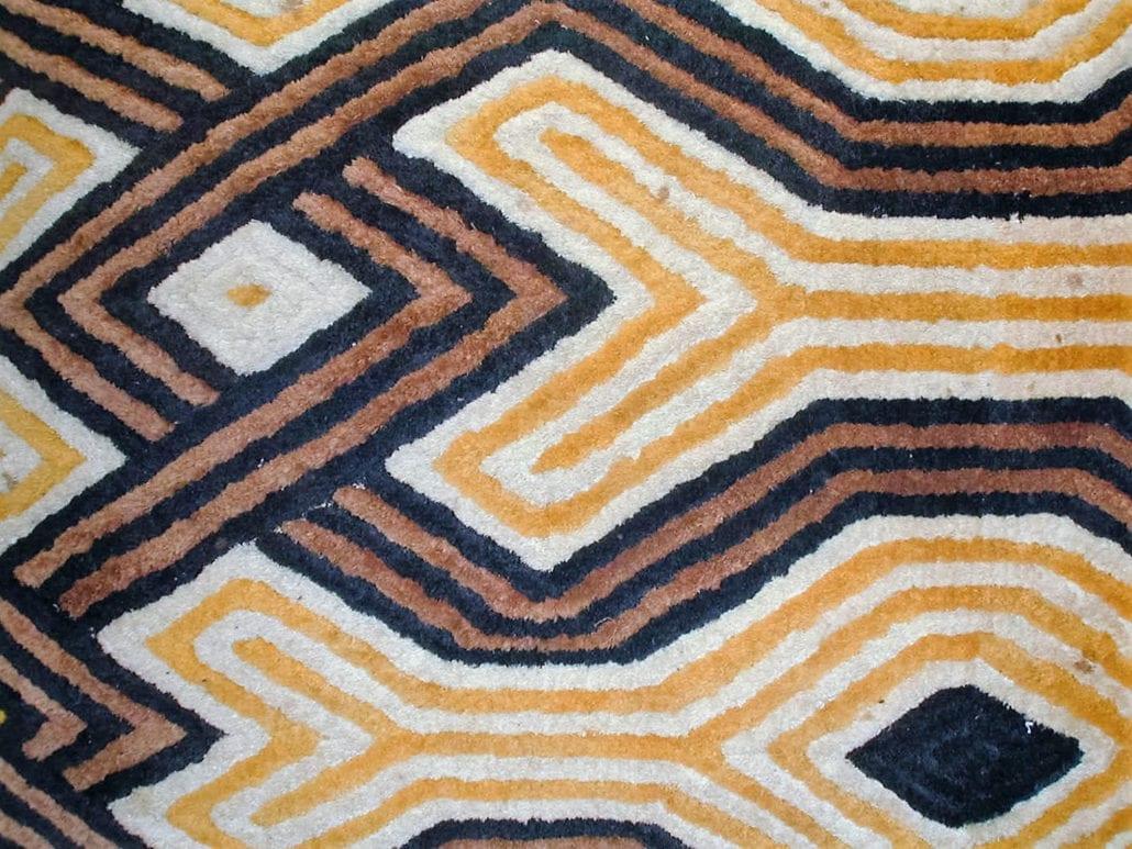 Kuba Pile cloth from Congo (DRC)