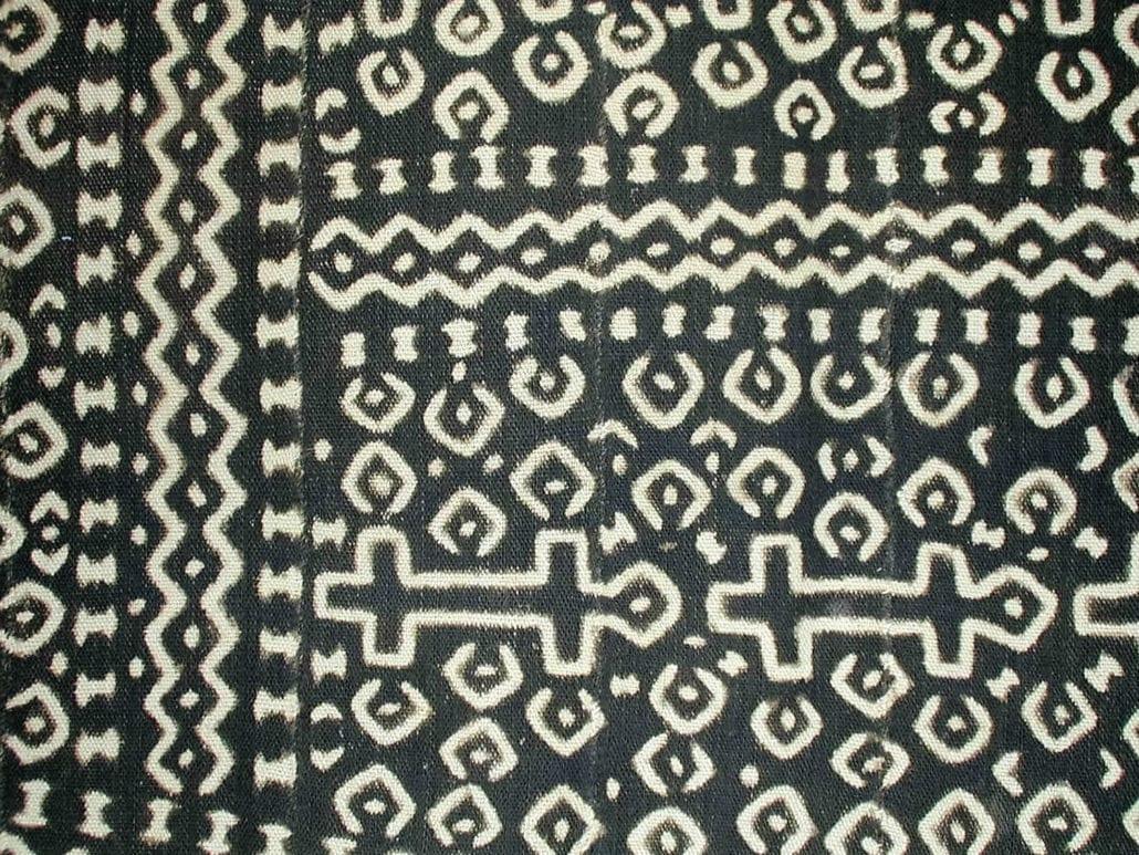 Mud cloth from Mali