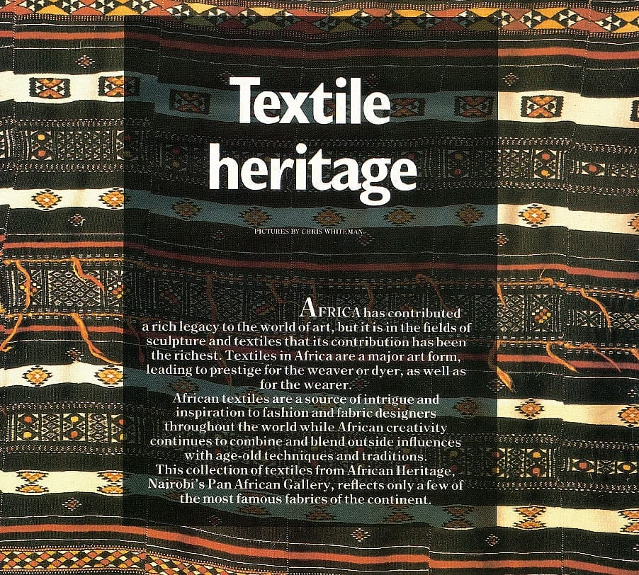 Textile Heritage - an introduction