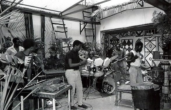 African Heritage Band played every Saturday afternoon at the African Heritage Garden/Craft Centre on Kenyatta Avenue which was often closed down because of the overwhelming crowds.