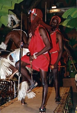 'Rare Watts' dancers at an African Heritage event.